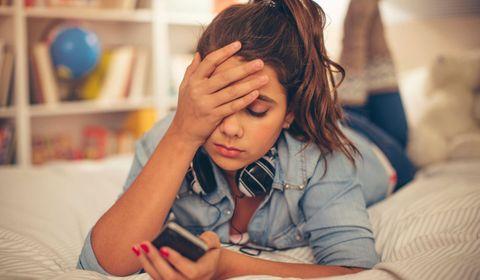 facebook dépression adolescent