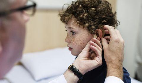 Prothèse auditive enfant