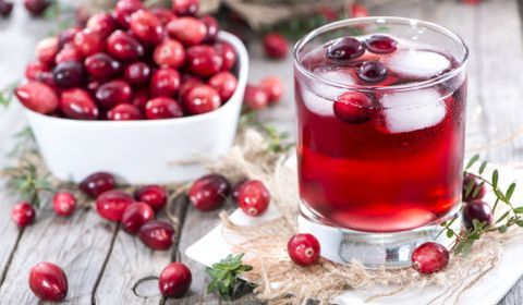 Cranberry cystite