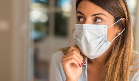 Masque contre la grippe