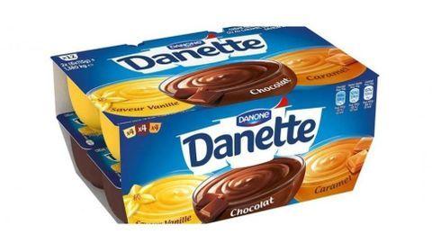 Rappel de crèmes Danette