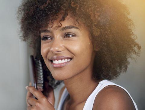 Soins des cheveux afro