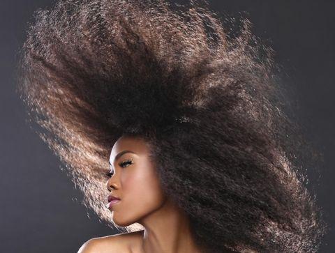Soins des cheveux crépus