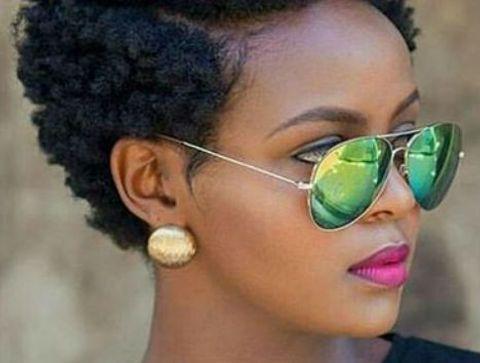 Coupe Courte Afro Les Plus Belles Coupes Courtes De 2021