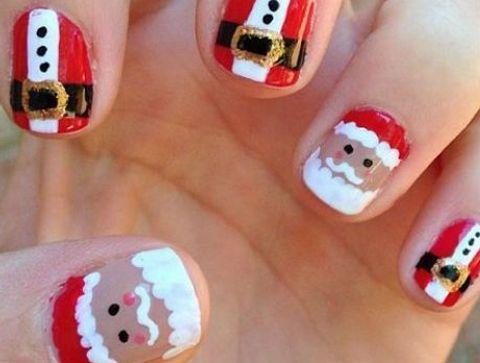 Nail Art Noel Les Plus Beaux Nail Art De Noel