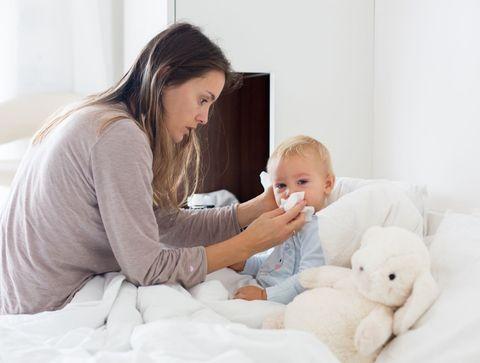 Comment soigner le rhume de bébé ?