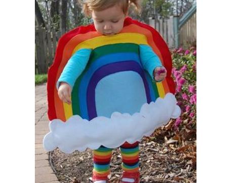 Déguisement d'arc-en-ciel - Halloween : 30 idées de déguisement pour enfant