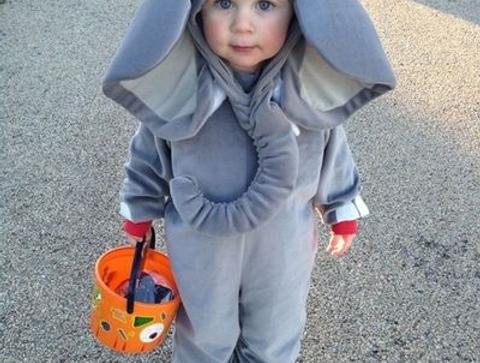 Déguisement d'éléphant - Halloween : 30 idées de déguisement pour enfant