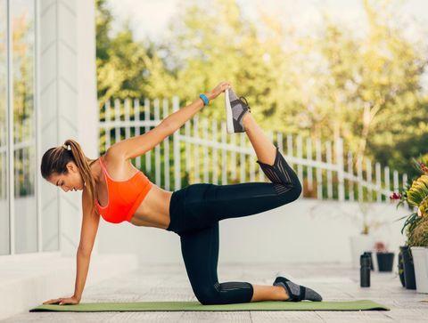 10 exercices d'étirement des muscles fessiers