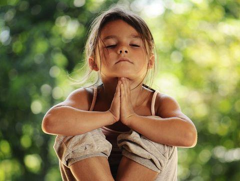 La méditation, c'est bon pour les enfants !
