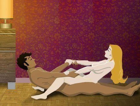 Le tape-cul  - Kamasutra illustré : Plus de 120 positions amoureuses en images