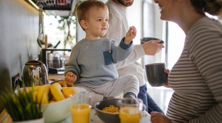 L'alimentation de bébé à 17 mois
