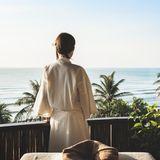 Des massages sur la plage…