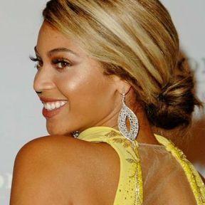 Le chignon bas de Beyoncé