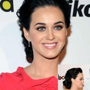 Le chignon Sophistiqué de Katy Perry