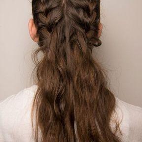 Demi-tresses cheveux lachés