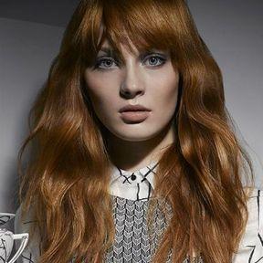 Modèle de coiffure cheveux longs automne-hiver 2015 @ Jacques Fourcade pour L'Oréal Professionnel