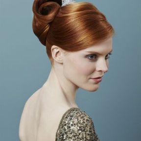 Modèle coiffure femme automne-hiver 2015 @ Lucie Saint-Clair