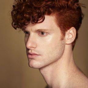 Coiffure cheveux roux