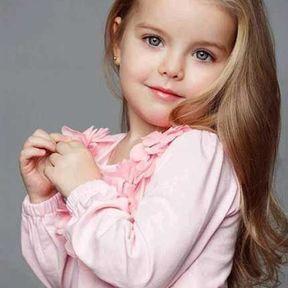 Coiffure petite fille cheveux long