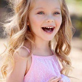 Modèle coiffure petite fille