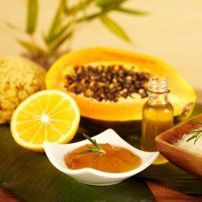 L'huile de papaye