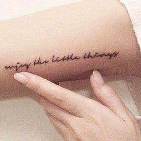 Tatouage à l'intérieur du bras