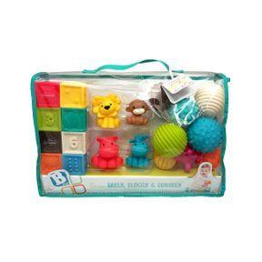Coffret jouets de bain Sensory - Infantino