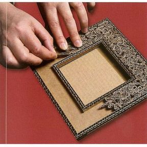 Transformer votre carton en cadre personnalisé