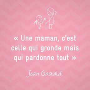 Citation sur la maternité de Jean Gastaldi