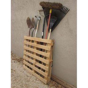 DIY rangement jardin