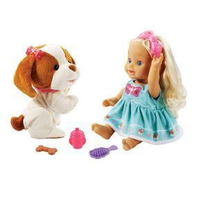 Little Love – Lou joue avec son toutou