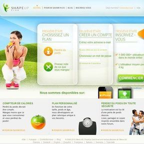Shape Up : Compteur de calories