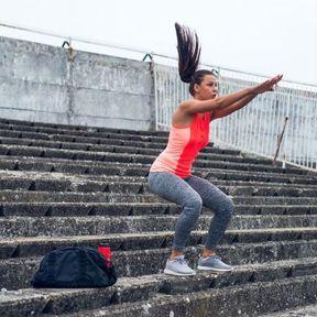 Squats jump