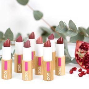 Les rouges à lèvres Classic de Zao Make-Up