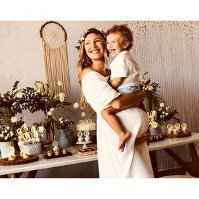 La baby shower de Candice Swanepoel
