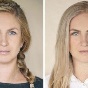 """""""Devenir mère""""- 33 femmes photographiées avant et après la naissance de leur enfant #30"""