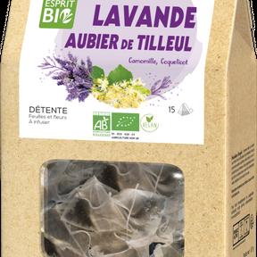 Lavande Aubier du tilleul - Esprit bio