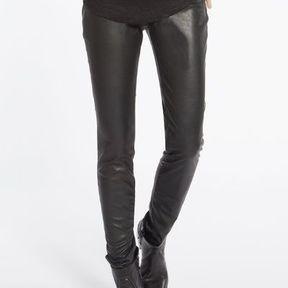 Pantalon effet cuir Comptoir des cotonniers printemps été 2014