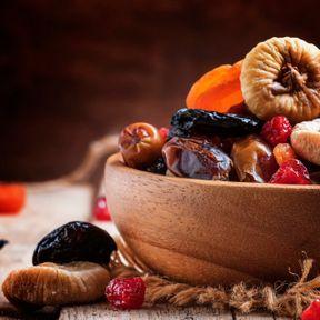 Des fruits secs
