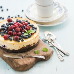 Le cheesecake sans cuisson