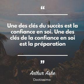 Citation d'Arthur Ashe