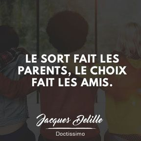 Citation amitié de Jacques Delille