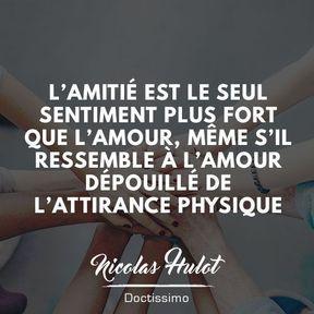 Citation amitié de Nicolas Hulot