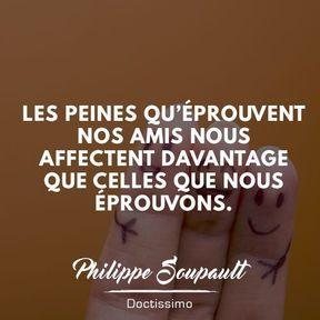 Citation amitié de Philippe Soupault