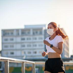 Faire du sport avec un masque ?
