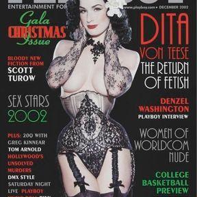 Dita von Teese, la Pin Up. Décembre 2002