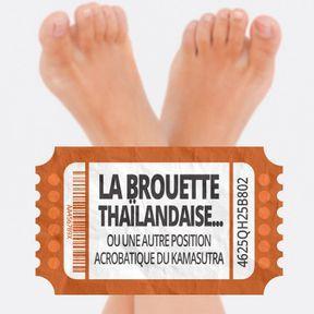 La brouette thaïlandaise... ou une autre position acrobatique du kamasutra