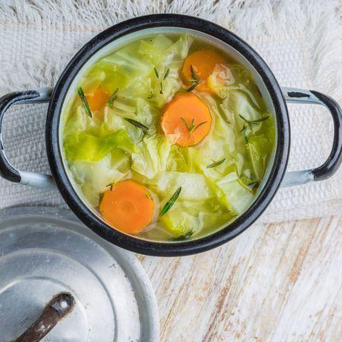 Régime soupe choux
